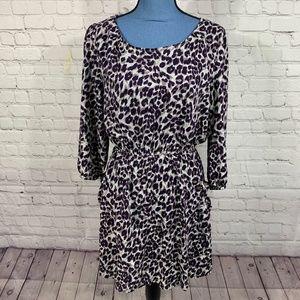 Cotton On Animal Print Casual Dress Size L
